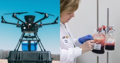 無人機運送血液會否變壞?研究:抵達後仍適合輸血!