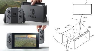 Nintendo Switch 專利圖曝光!遊戲主機或可變 VR 頭戴式裝置