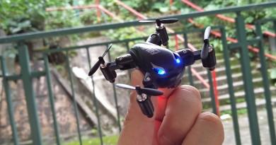 全球最小折疊式無人機 SY X31 飛行實力完全測試