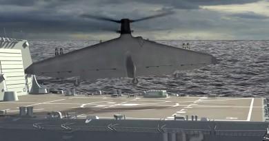 小軍艦上垂直起飛!TERN 無人機勢成美國海軍遠程偵察神器