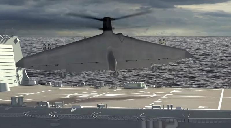 TERN 無人機讓小軍艦發揮大功能