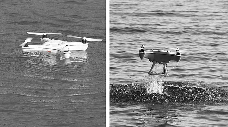 Xeno Sky 無人機既可在水面航行,又可在水上升降。