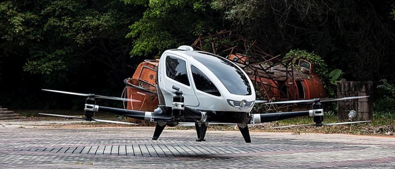 億航聲稱 Ehang 184 中國試飛逾 200 次