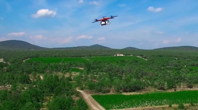 法國 無人機 送貨 測試