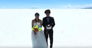 日本夫妻完成 400 天環球蜜月創舉 空拍機記錄甜蜜回憶