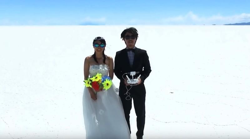 日本 夫婦 空拍機 環遊世界 度蜜月