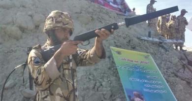 伊朗軍方小型電磁槍亮相 加入反無人機行列
