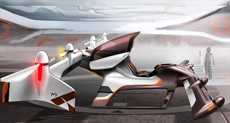 Airbus 早前曾發表另一款可載客自駕無人機的概念設計圖。