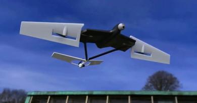 CAG Manta Ray 機翼變形三軸機 如鬼蝠魟般暢遊天空