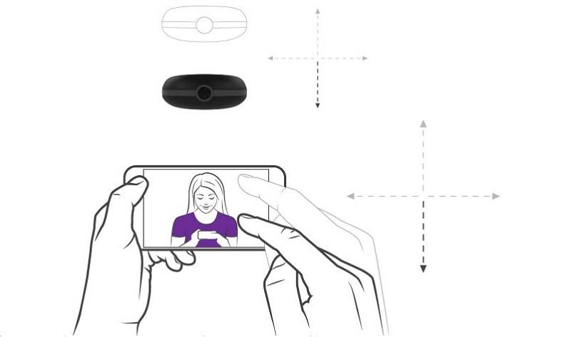 Cleo 自拍無人機操作示意圖。(圖片來源:Cleo Robotics)
