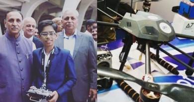 印度 14 歲神童憑自製掃雷無人機 贏得政府 73 萬美元合約