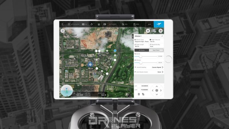 《DJI GS Pro》app - 3DMap Area