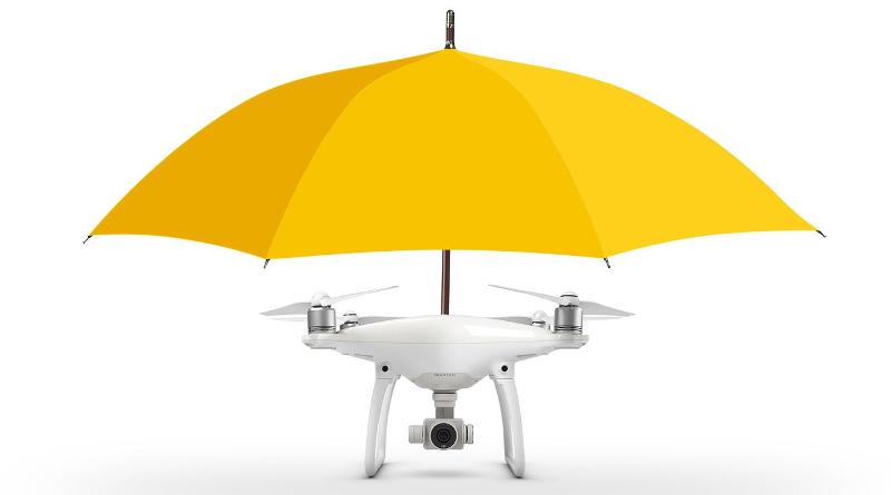 DJI Phantom 4 免提傘