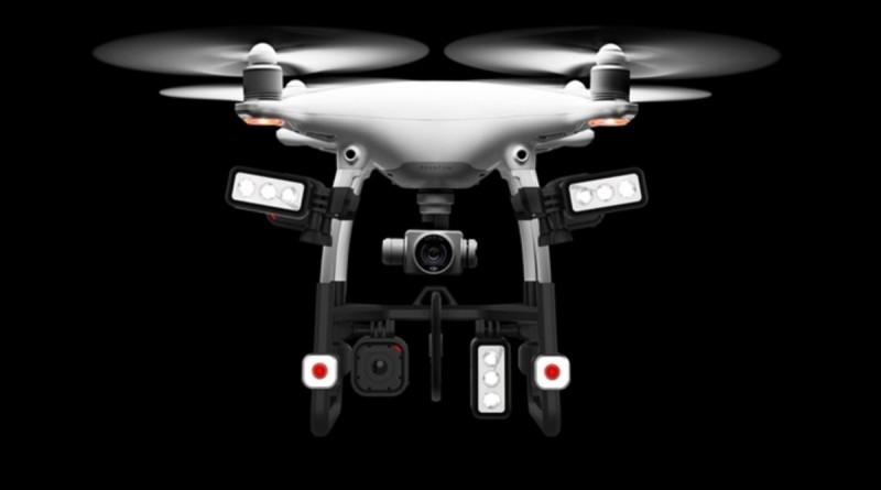 DJI Phantom 4 加裝 EXO 1 變身搜救無人機