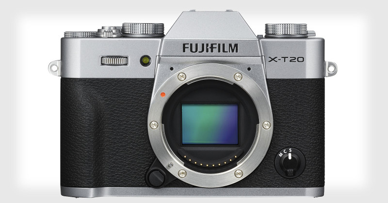 Fujifilm X-T20 的外形跟上代 X-T10 沒有太大分別。