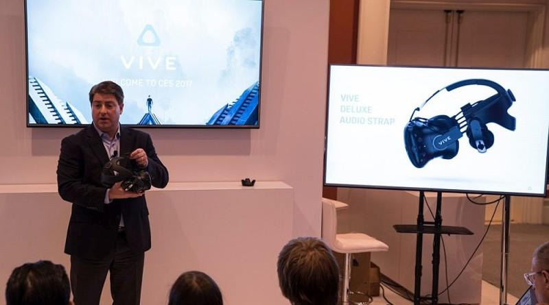 HTC Vive 2 缺席有驚喜!Vive 移動定位器•頭戴耳機亮相