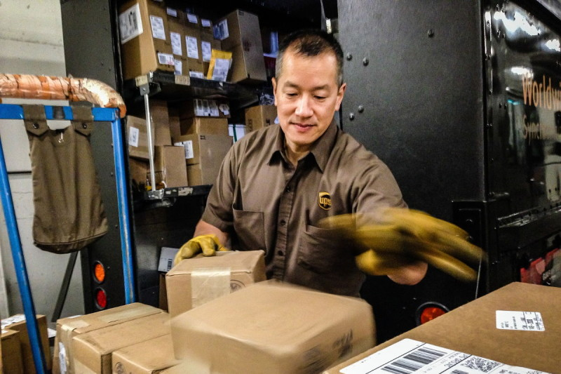 UPS 台灣取貨服務(照片來源:UPS)