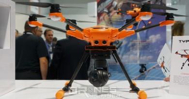 CES 2017直擊:Yuneec H520 商用無人機登場 瞄準企業應用領域