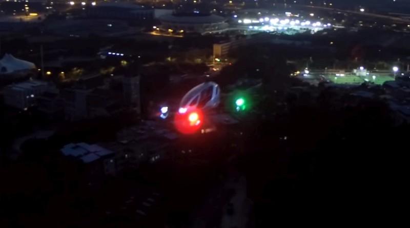 Ehang 184 實機試飛片段曝光!夜間飛行測試完成