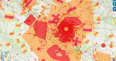法國民航局公布無人機限飛地圖 巴黎市中心全面禁絕航拍