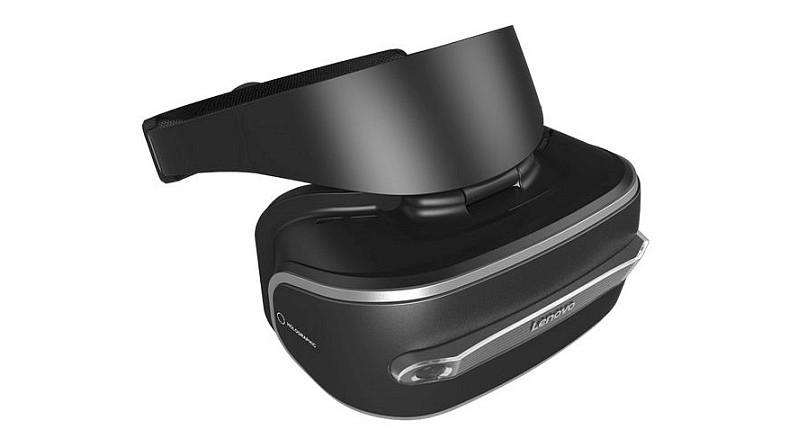 Lenovo VR 眼鏡的外形跟 PlayStation VR 有幾分相像。