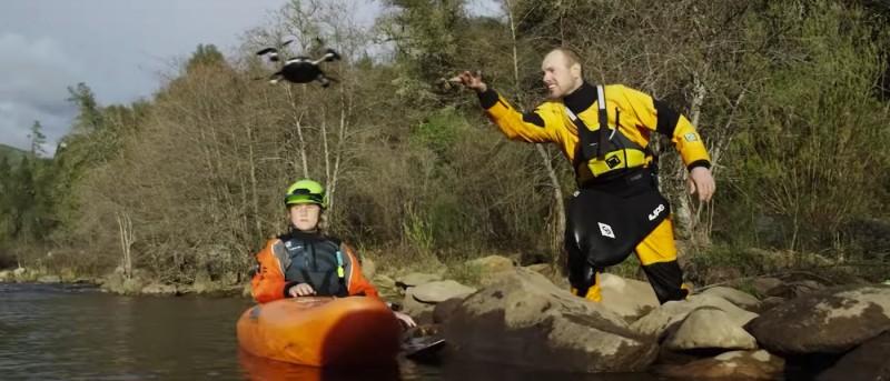 宣傳片中的 Lily Camera 甚至被拋出去後,能在水中起飛。