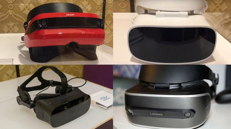 Microsoft VR 眼鏡登場!五大品牌強勢助陣