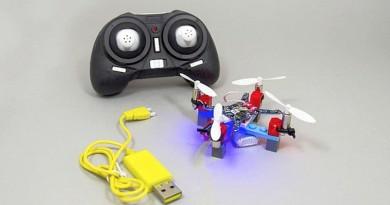 Mini Lego Drone Kit 讓你自組全球最小的樂高積木無人機!
