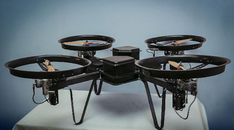 mms drone 汽油 無人機