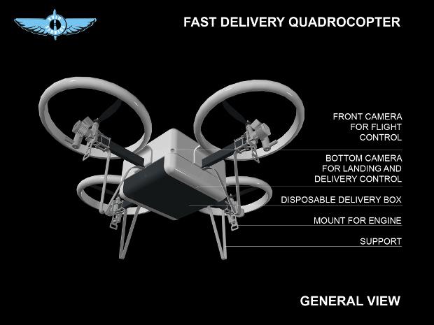 MMS Drones 預計用於送貨、農業等範疇。