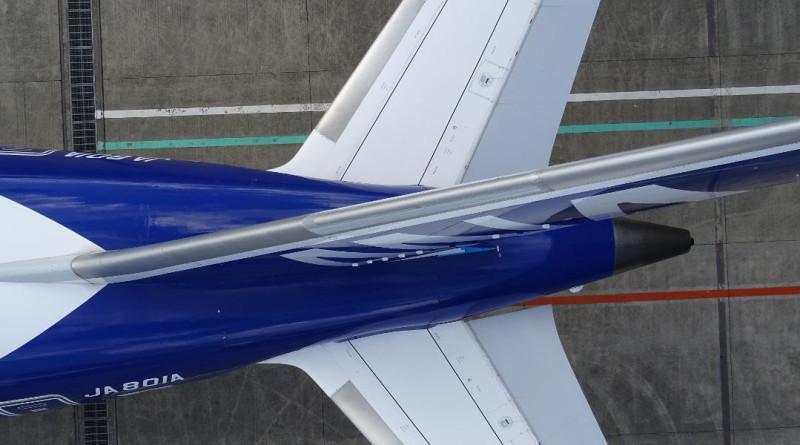 全日空用 AeroSense 無人機勘察波音 787