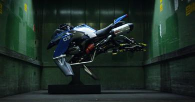 BMW 懸浮機車酷爆登場!不能想像前身只是 Lego 玩具…