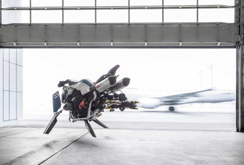 BMW Motorrad LEGO Technic Hover Ride 概念圖(一)