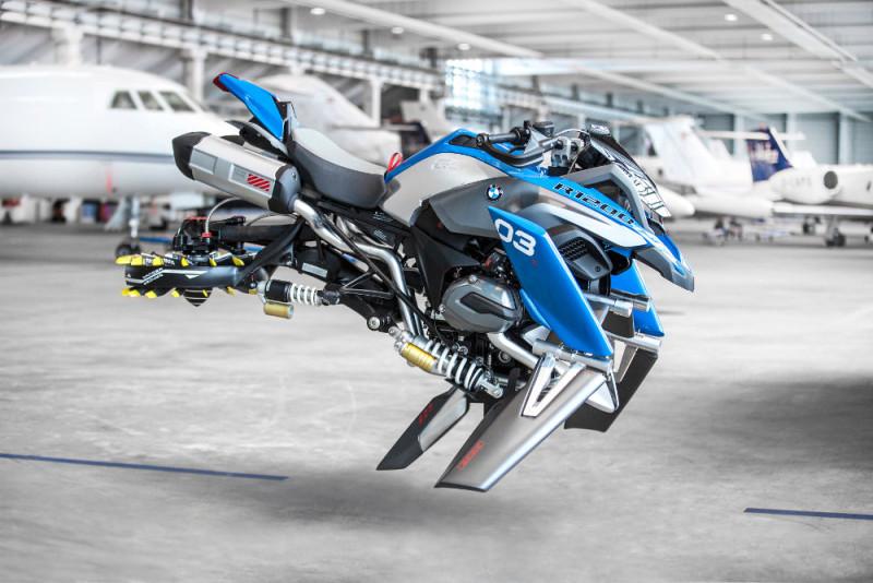 BMW Motorrad LEGO Technic Hover Ride 概念圖(二)