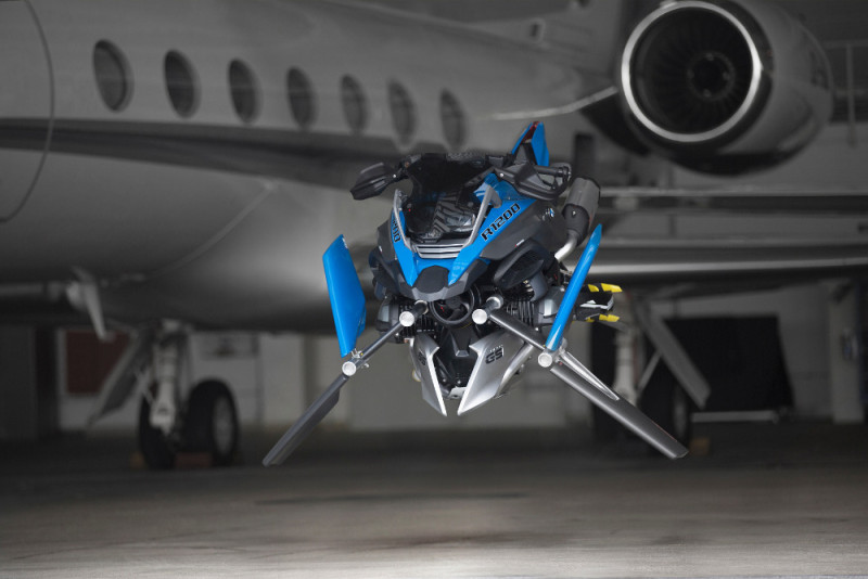 BMW Motorrad LEGO Technic Hover Ride 概念圖(三)