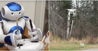 Nao 機器人自行操控無人機!但畢竟新手試飛的下場大同小異…