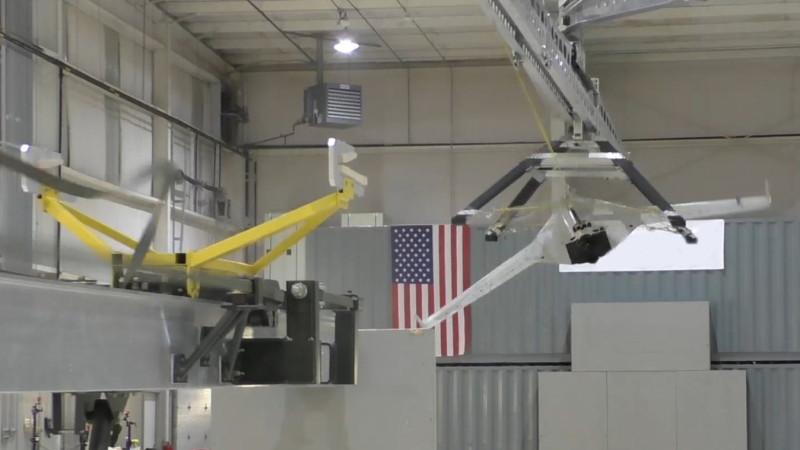 DARPA SideArm Capture System - 室內測試