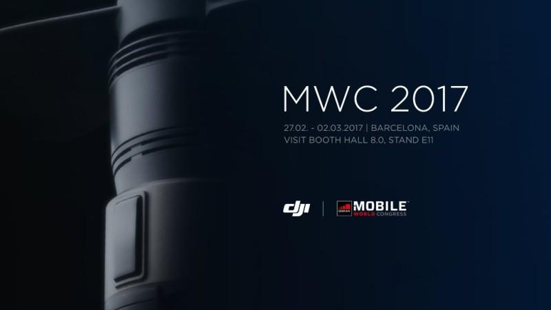 DJI 預告參展 MWC 2017
