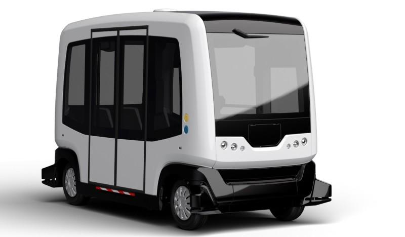 無人自駕汽車 EasyMile EZ10