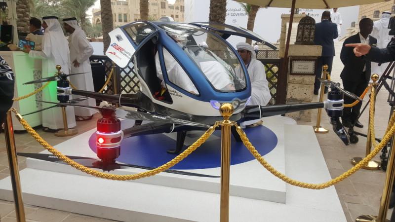 億航 Ehang 184 在杜拜展出