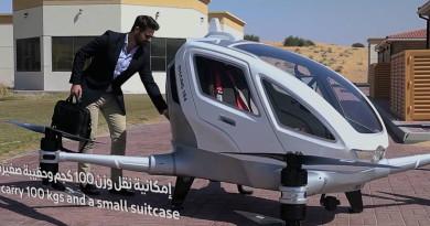 Ehang 184 自駕無人機今夏杜拜啟航 成智能城市常規交通工具