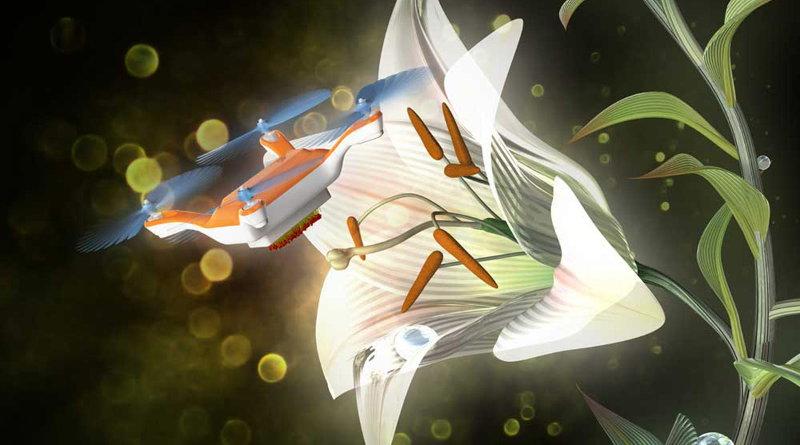 Eijiro Miyako - 用玩具無人機傳播花粉