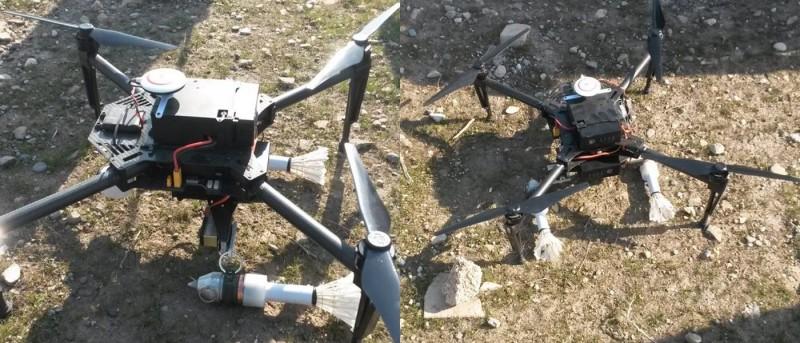 伊斯蘭國改裝 DJI Matrice 100 成轟炸機