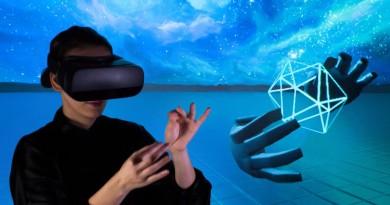 Samsung Gear VR 支援體感操控!全靠 Leap Motion 手部追蹤技術