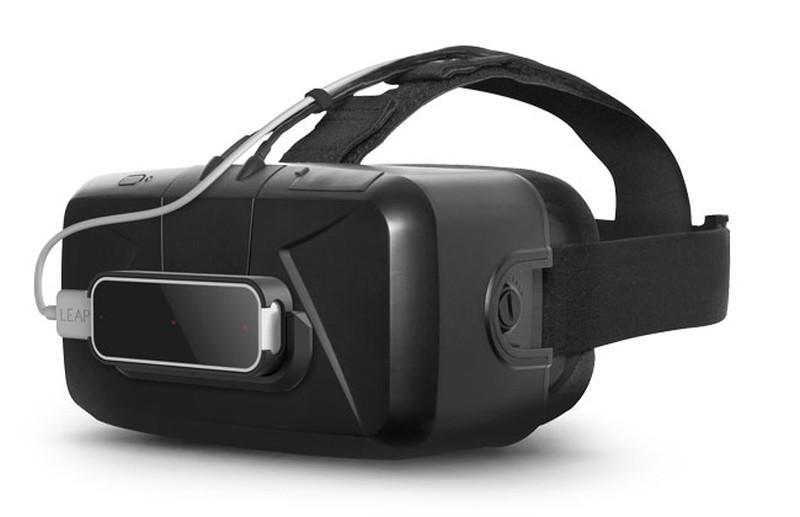 Leap Motion Mobile Platform 亦曾安裝到 Oculus Rift VR 眼鏡,可讓用戶進行拾取、扔掉、推動物件等動作。