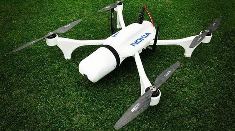 諾基亞 MWC 2017 展示 4G 無人機方案