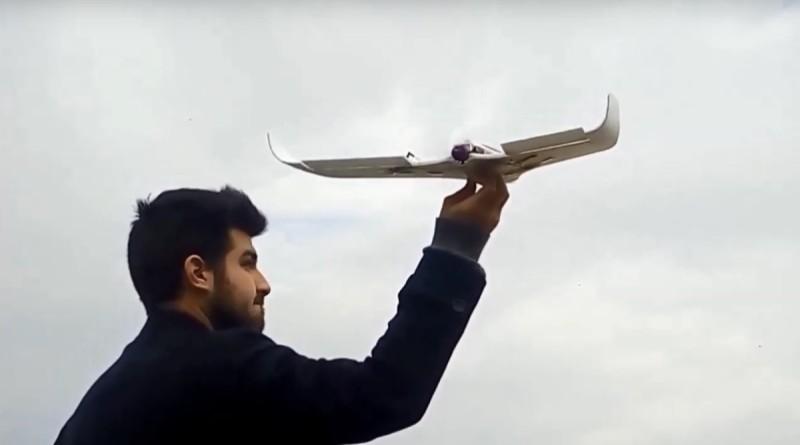 Tsubasa V3 小型太陽能固定翼無人機 連飛15分鐘執行空中繪測