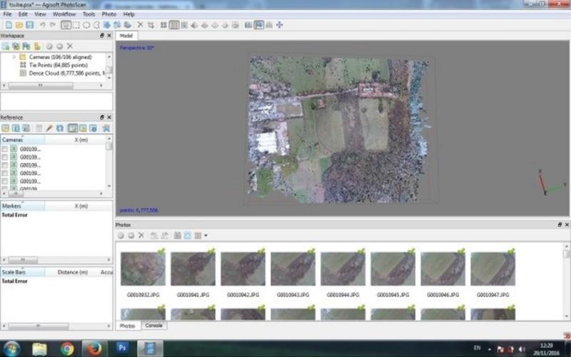 Tsubasa V3 無人機的主要用途是執行空中繪測任務,採集地形數據,以供繪製 3D 地圖。