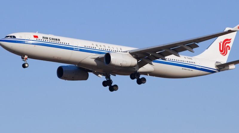 中國國際航空公司客機 無人機