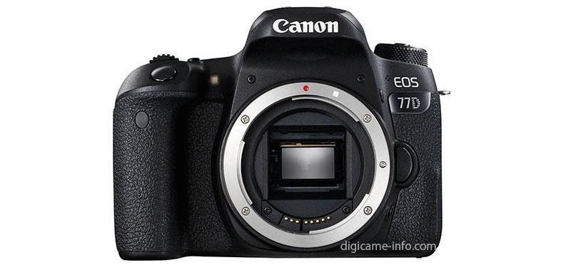 Canon EOS 77D 機身正面